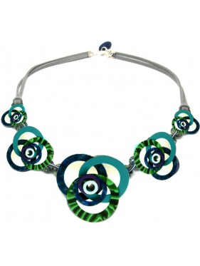 Necklace Springs Malachite MUC3