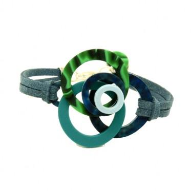 Bracelet Springs Malachite MUPU2
