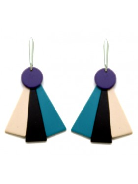 Earring Fan ABP4
