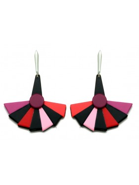 Earring Fan ABP5