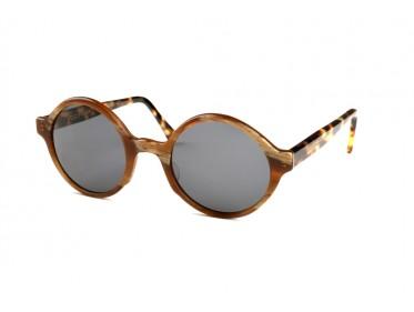 Round Sunglasses Tortoiseshell G-238Ma