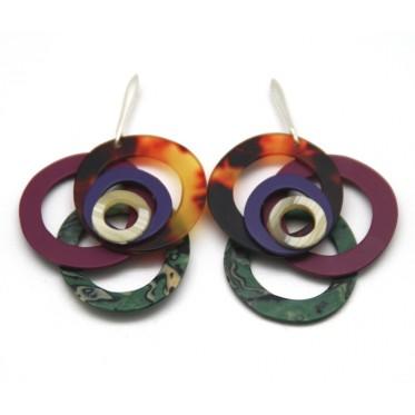 Earrings Springs Garnest MUP3