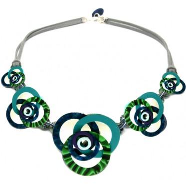 Necklace Springs Malachite MUC3