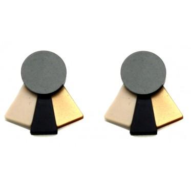 Earring Fan ABP1
