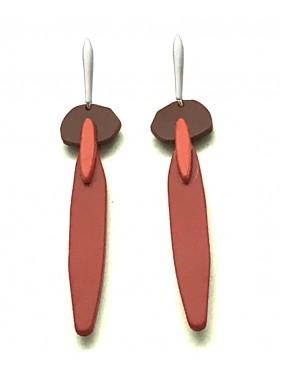 Pair of Earrings CRP4RO CHRYSALIS