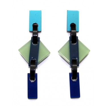 Earrings Rhombus ROMP3FR