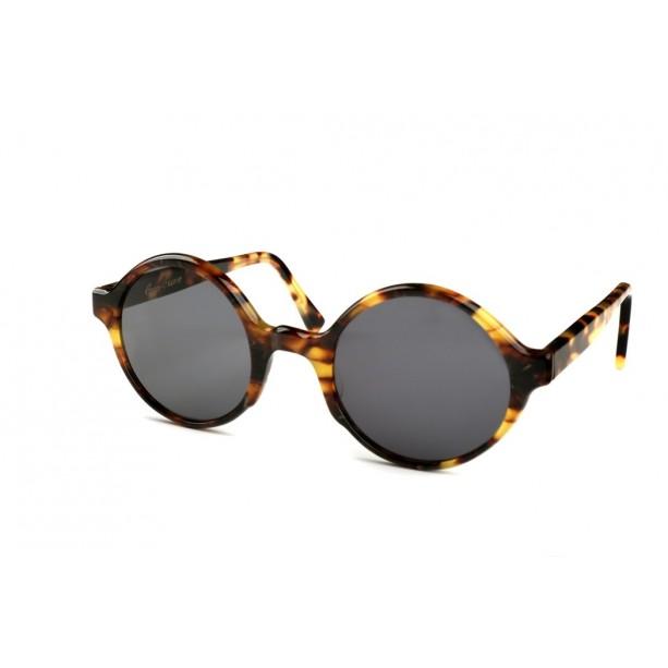 Round Sunglasses Tortoiseshell G-238Ca